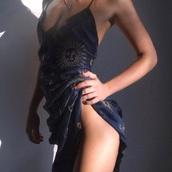 dress,navy dress,sun,embroidered,blue,tank dress,blue dress,cover up,versace,moon,sexy,beautiful,sexy dress,navy,sun and starts print,low vee cut,v neck dress,stars,midi dress,silk,navy silk,gold embroidery,spaghetti strap,spaghetti straps dress,celestial sun