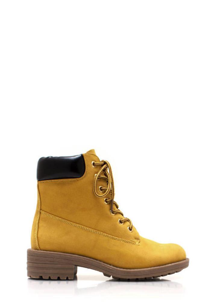 Take a hike lace up boots gojane.com