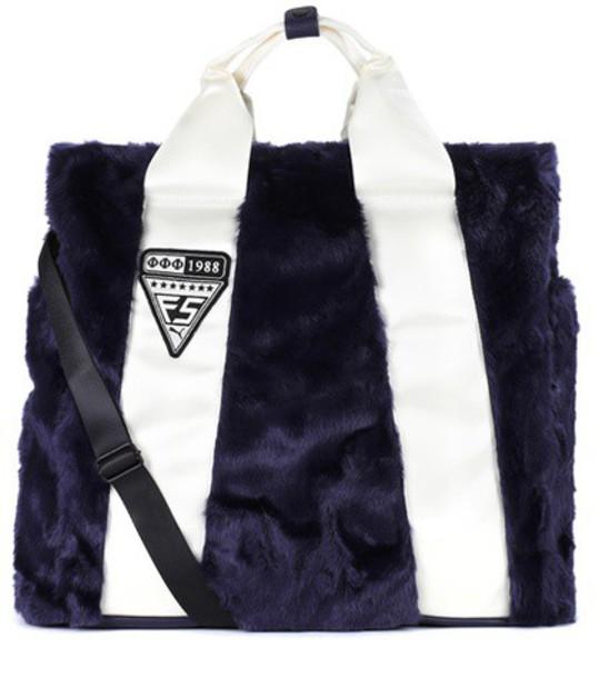 FENTY by Rihanna fur blue bag