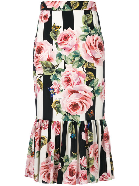 skirt floral skirt women spandex floral silk