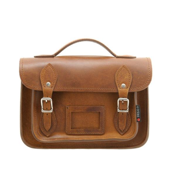 bag satchel leather bag