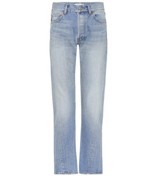 Balenciaga Tapered jeans in blue