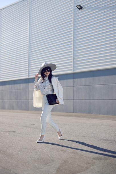 pale division sunglasses jacket shirt pants bag shoes