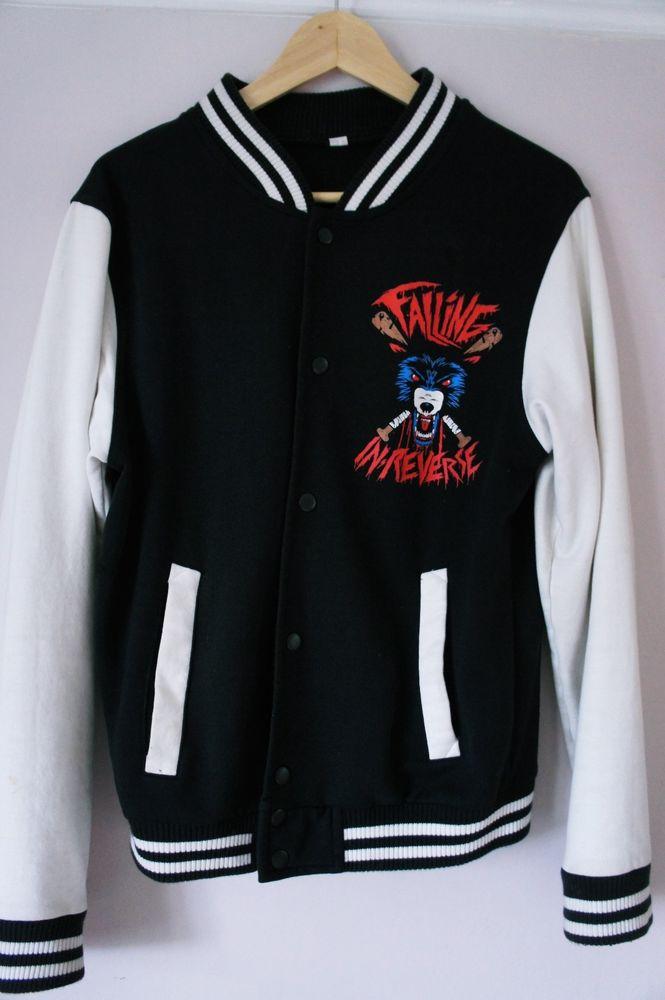Falling In Reverse Radke 01 Varsity Jacket