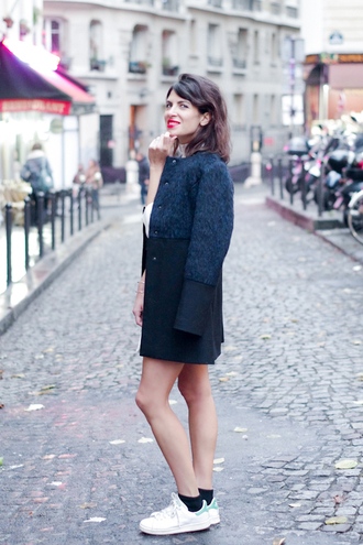 fashion is a playground blogger winter coat sneakers