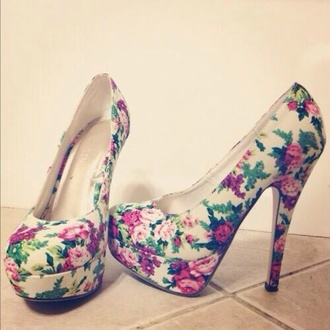 shoes high heels cute cute high heels cute shoes floral floral high heels flowers pink