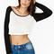 Cropped baseball tee · fashion struck · online store powered by storenvy