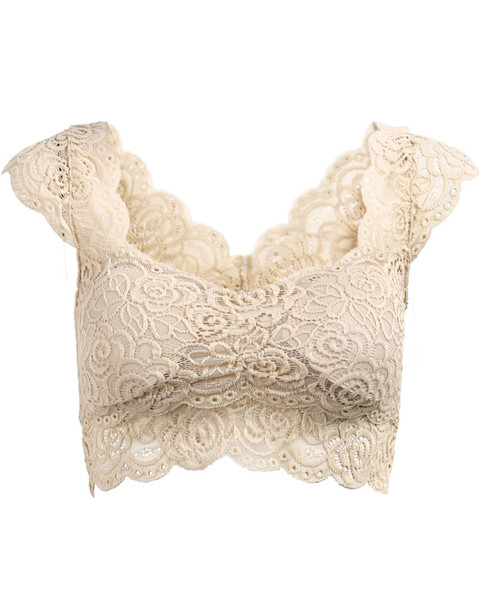 Vine Vintage Lace Bralet | Outfit Made
