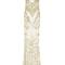 Art deco embellished cut-away gown | moda operandi