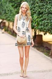 clothes,brands,tunic dress,rachel zoe,the zoe report,embroidered,embroidered dress,dress,white dress