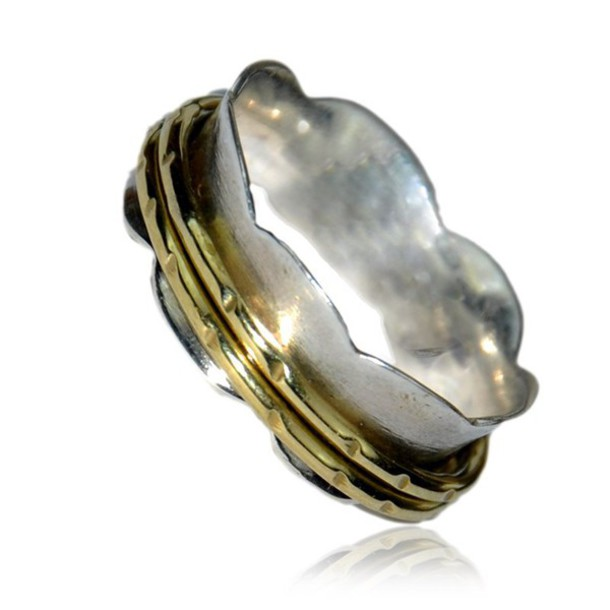 jewels silver ring silver jewelry gold plated ring