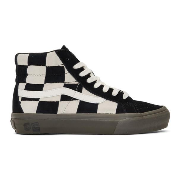 Vans Off-White & Black Taka Hayashi Edition SK8-Hi LX Sneakers