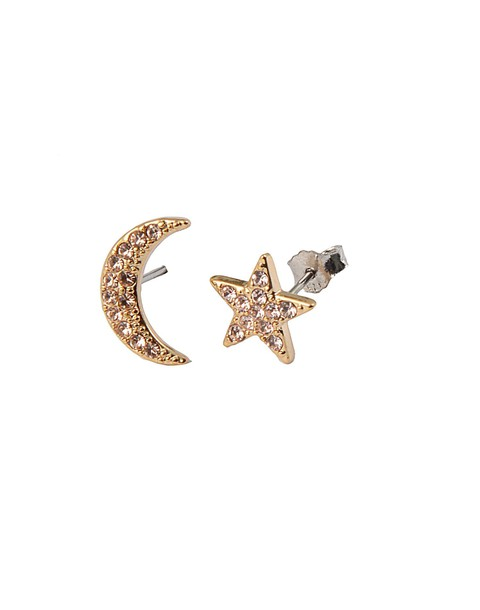 earings moon silk jewels