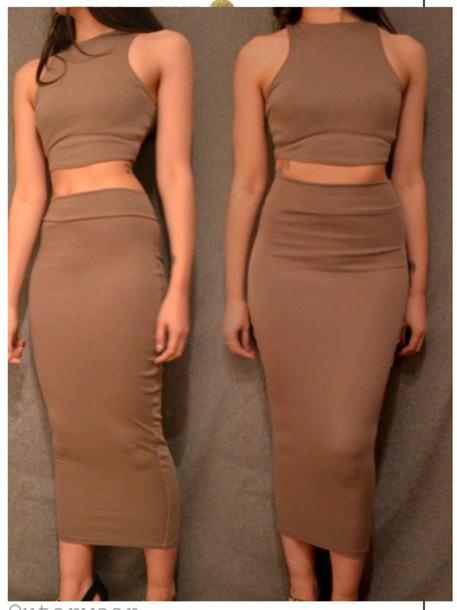 skirt ankle skirt kim kardashian skirt midi skirt