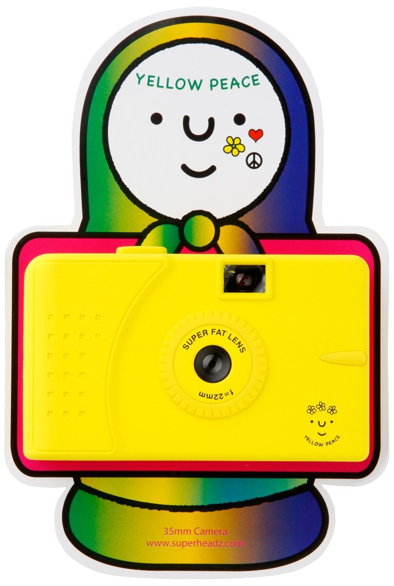 Amazon.com : Yellow Piece Vivitar ultra Wide Lens Camera Series powershovel superheadz : Point And Shoot Digital Cameras : Camera & Photo