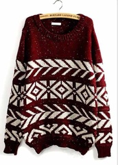 burgundy sweater,white,warm sweater,cute sweaters,comfy sweater,cozy sweater,winter outfits,lazy day
