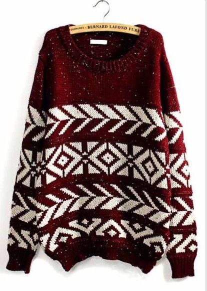 burgundy sweater white warm sweater cute sweaters comfy sweater cozy sweater winter outfits lazy day