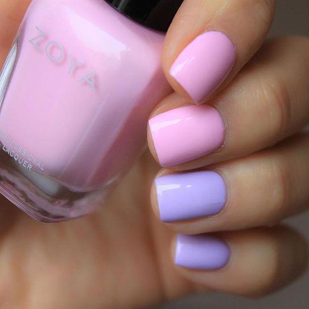 nail accessories, tumblr, nail polish, nails, pastel, pastel pink ...