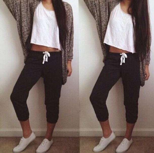 lazy sweatpants outfit - photo #5