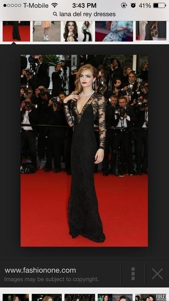 black dress cara delevingne black lace dress