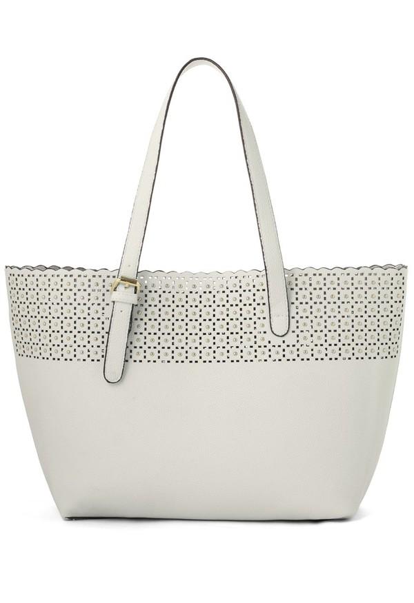 bag chicwish scrolled cutout twinset handbag
