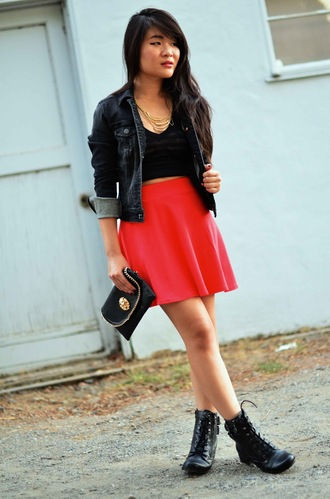 daily disguise jacket shirt t-shirt skirt jewels shoes