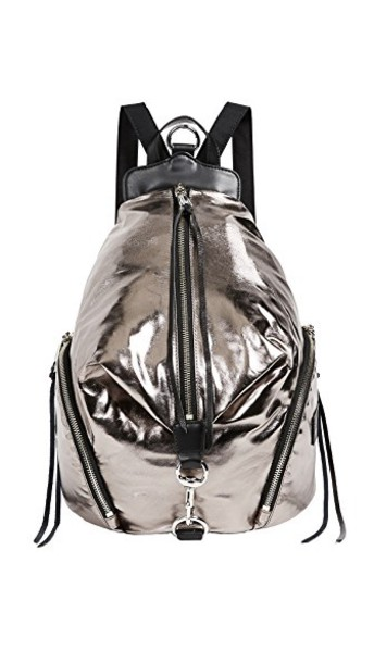 Rebecca Minkoff backpack silver bag