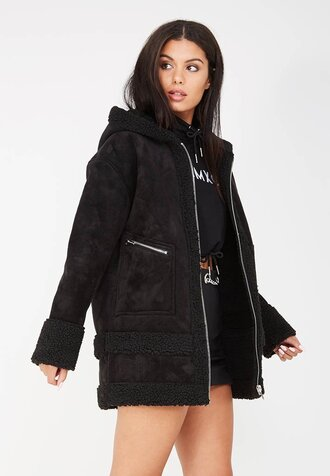 jacket suede black suede jacket hooded jacket