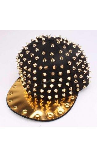 Hip hop punk cap spikes spiky studded snapback hats caps usa seller