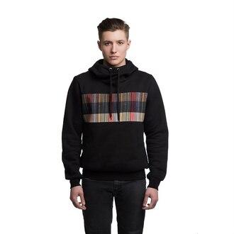 sweater hoodie hooded sweater black hoodie black mens hoodie menswear printed hoodie print