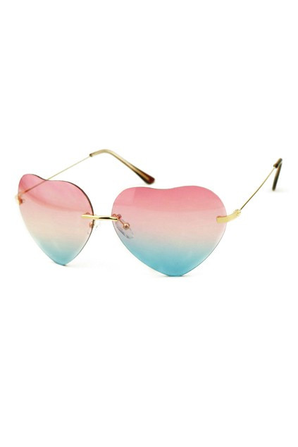 Shaped sunglasses