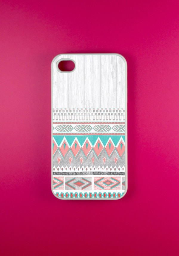 jewels aztec cover white tree iphone 4 case