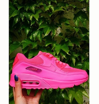 shoes nike air max 90 hyper pink