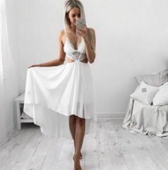 Triangle Lace Cut-Out Maxi – Dream Closet Couture