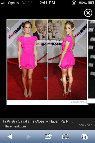 dress naven pink pink dress