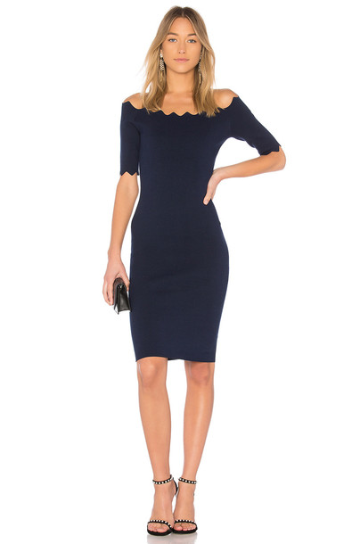 MILLY dress navy