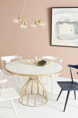 Seaford Pedestal Dining Table