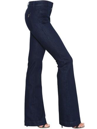 jeans denim cotton dark blue dark blue