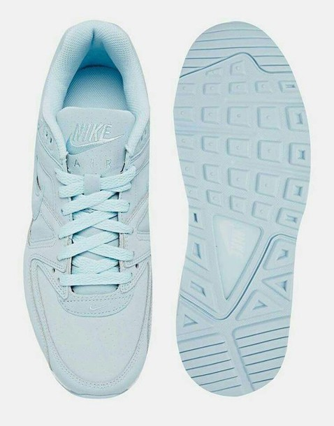 new style 47373 52c59 shoes nike nike air sneakers running shoes baby blue pastel sneakers light blue  nike shoes