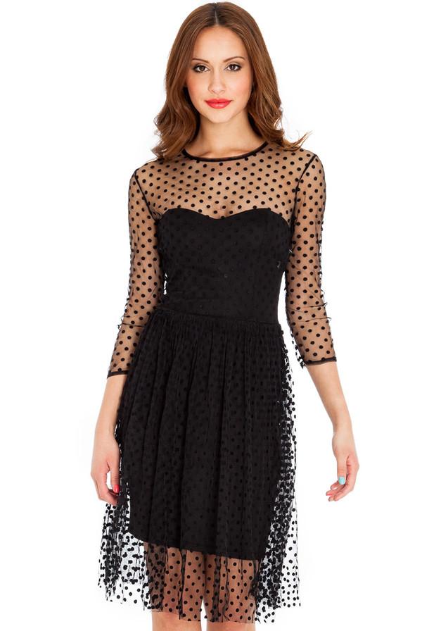 Dress Prom Dress Spotty Mesh Leggings Bustier Stylish