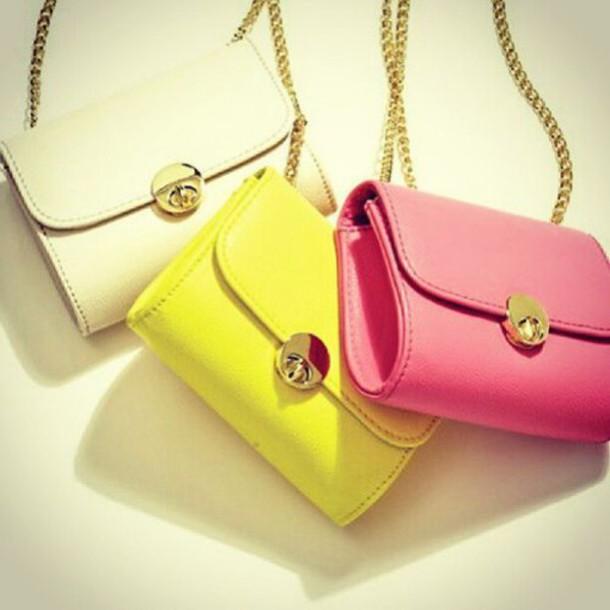 bag chain bag sholder bag bright
