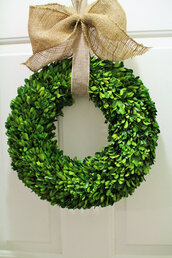 home accessory,wreaths,boxwood wreath,mothers day gift idea