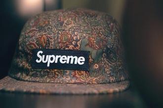 supreme hat supreme