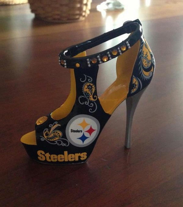 Steelers High Heel Shoes
