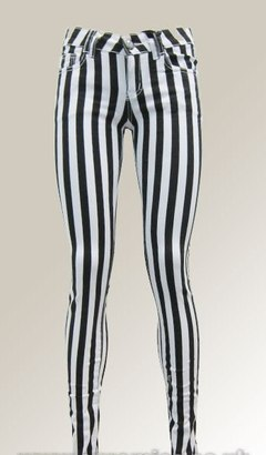 HIGH WAIST VERTICAL STRIPE PANTS on The Hunt