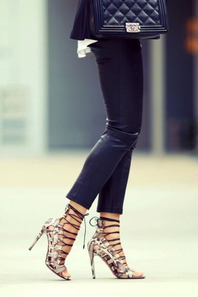 shoes aquazzura elaphe heels