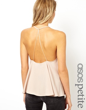 ASOS Petite | ASOS PETITE Exclusive Backless Cami at ASOS