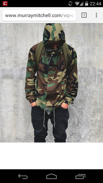 jacket camouflage menswear windbreaker camo jacket dope wishlist