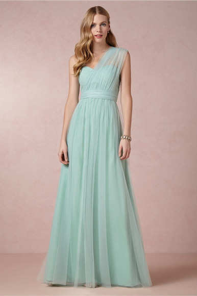 one shoulder evening dress bridesmaid formal dresses long dress prom dresses 2014 custom made