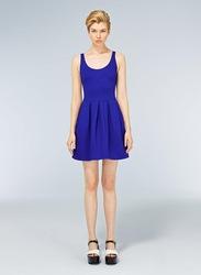 Style européen cl556 célèbre marque 3 robe couleur options poches latérales à glissière printemps, été,